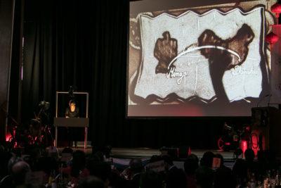 Sandkunst Bayerisch-Chinesisches Frühlingsfest Chinaforum Bayern 2018