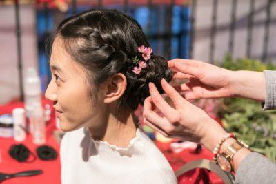 Frisur Zopf Bayerisch-Chinesisches Frühlingsfest Chinaforum Bayern 2018
