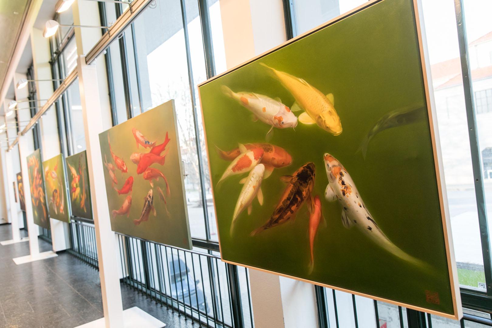 Ausstellung der Künstlerin LI Zhenya